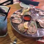 Oysters and a purple rain