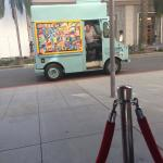 This ice cream truck makes the rounds up/down Rodeo Drive