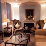 The quaint ambiance of Dukes' Drawing room