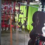 Inside Rehwa weaving area