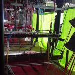 Saree weaving in progress