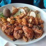Assiette de mezzés chauds