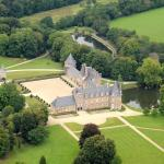 Chateau de Canisy Arial Photo