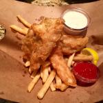 Cod Fish & Chips (May 2016)
