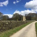 The road to North Lees Hall