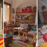 Illustrated books on 23th april Sant Jordi