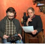 Jeremy Irons recording the voice of Lord Dufferin as part of Skibbereen: The Famine Story