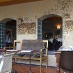 Blick in Teil 2 des Restaurants