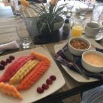 Desayuno saludable.