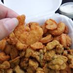 shrimp up close, I have had bigger