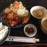 唐揚げ定食、770円