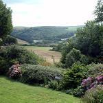 River View from Polmena garden