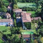 Birds eye view of the Villa