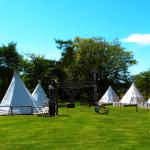 Tipi Glamping Tents at Camp Pinewood