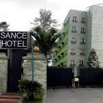 Hotel Front View Landscape