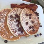 Chocolate Chip Buttermilk Pancakes