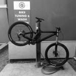 Bike Wash and Tuning Stand