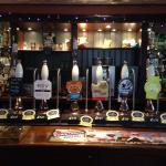 The cask ales are 2nd to none