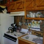 "Sunnybrook ""Tiny House"" has full size appliances in kitchen"
