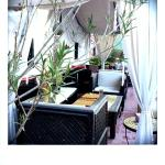 le salon sur la terrasse - lounge tarrace