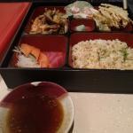 Seafood bentobox (Php450)