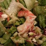 BIG Greek salad prepared tableside