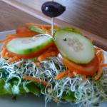 Sandwich vegano!