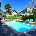 pool area - kayu jati batik - one bedroom apartment complex