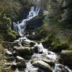 Torc waterfall a few miles from hotel