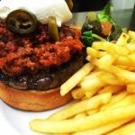 Chilli burger