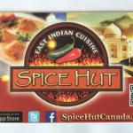 Spice Hut Indian Cuisine. Foto