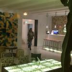 Empfangsraum, Lounge und Frühstücksraum