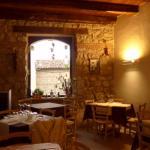 Restaurant inside the Albergo