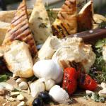 Sicilian style antipasti