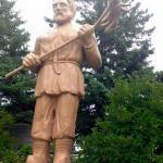 St. Urho Statue