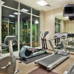 Stay active while away from home with our fitness center