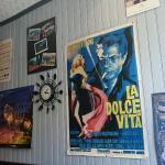 tout sur l 'Italie meme sur les murs :)