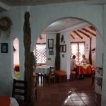 Blick in den Frühstücksraum