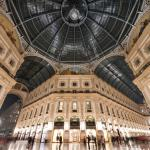 Hotel View from Galleria Vittorio  Emanuele II