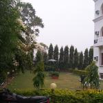 Well Maintained Lawn &enjoy view of  Lush green Aravali Hill view from All Rooms
