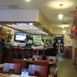 Outside and inside of Shiki restaurant
