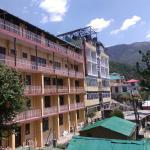 Backside of hotel Tibet