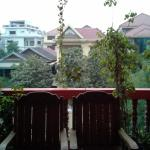 View from the balcony at Bun Kao Guesthouse