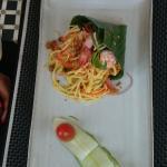khmer papaya salad - not spicy - great original taste