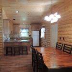 New cabin in 2016 - Cedar kitchen