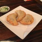 Curry Puffs (with pork, potato, onions and curry powder)