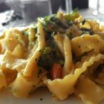 Pasta broccoli e pachino