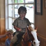 Ride in the restaurant