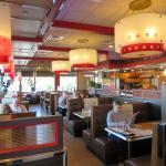 interior Red Line Diner