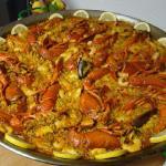 paella aux homards